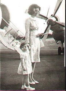 Princess Irene c1966/67 by Mesonyx, via Flickr-Princess Irene of Greece with her niece Princess Alexia