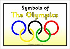 Olympic symbols information posters (SB7788) - SparkleBox
