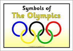 Olympic symbols information posters (SB7788) - SparkleBox