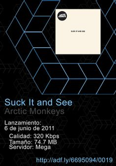 0019.  #SuckIt and #See - #Arctic #Monkeys http://ad f.ly/6695094/0019
