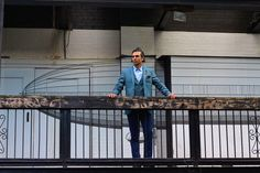 @Ted_Baker Style Ambassador | Minbrec herringbone wool blazer with Minbrew vest | Fairwell classic linen dress shirt | Tintega textured chino | SplitTwo belt | Braythe green dress shoes | Dressed #TedToToe | #TedsNextAdventure | #StyleBySarai | www.tedbaker.com/ca