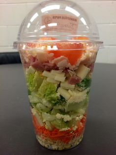 Chef's Salad Shakers introduced to the elementary schools in January!