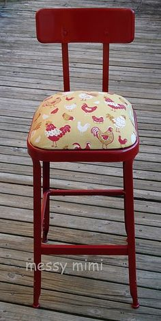 Cute - keep on the look out for an industrial chair