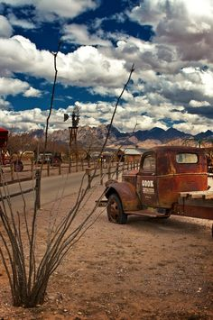 Truck with Sky, Las Cruces, New Mexico, 2010