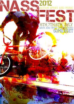 A2 Graphics exam piece,  Nass festival poster Festival Posters, Somerset, Festivals, Trail, Celebration, Typography, Pencil, Design Inspiration, Graphics