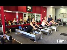 Pilates Reformer Intermediate Workout with Variations - YouTube