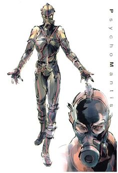 metal gear solid concept art