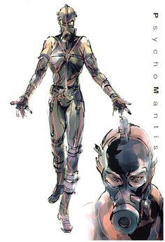 metal gear solid concept art | Metal Gear Solid Concept Art
