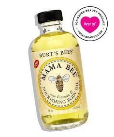 No. 5: Burt's Bees Mama Bee Nourishing Baby Oil, $8