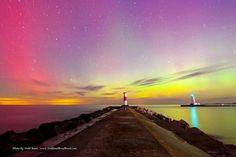 Northern Lights in Michigan