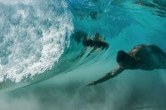 These incredible images were taken BENEATH breaking waves by a 70-year-old photographer Don Hurseler in Hawaii . A daring photographer in Hawaii has shared photos he took as waves rolled over him and he captured them from behind as they broke. The stunning underwater shots show vortices venting from the backside of a breaking wave which can act as a window when the wave is very thin. . The spectacular snaps were taken at Kua Bay Hawaii by author and photographer Don Hurzeler (70) from…