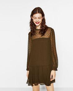 PLUMETIS DRESS-DRESSES-WOMAN | ZARA United States