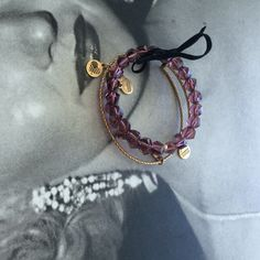 Set of 2 Ani & Alex bangles No box or tag, but these are new and still have the velvet ribbon ! Alex & Ani Jewelry Bracelets