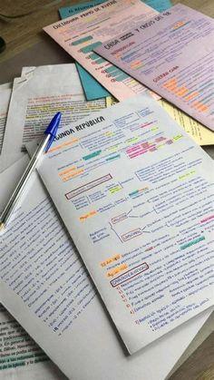 School Organization Notes, Study Organization, College Notes, Bullet Journal School, School Study Tips, Study Planner, Study Hard, Study Notes, Student Life