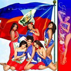 Beautiful Haitian women