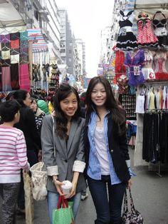 Ladies Market, Mongkok Hongkong