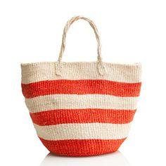 Bamboula Ltd. for J.Crew market tote - accessories - Women's It's Sunny Somewhere - J.Crew
