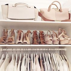 Color coordinated closet via @ohhcouture  // Follow @ShopStyle on Instagram for more inspo.