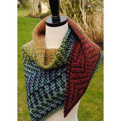Dovetail shawl Knitting pattern by Judy Marples | Knitting Patterns | LoveKnitting
