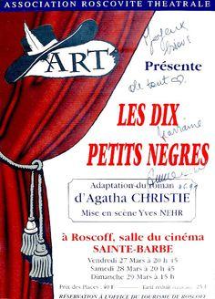 Troupe de l'Estacade - Roscoff: Les dix petits nègres  http://troupedelestacade.blogspot.fr/search/label/Les%20dix%20petits%20n%C3%A8gres