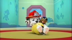 Naptime for baby Marshall! - Paw Patrol by on DeviantArt Los Paw Patrol, Paw Patrol Pups, Rescue Dogs, Pj, Masks, Sketches, Deviantart, Drawings, Birthday