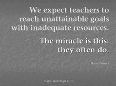 Haim Ginott: We expect teachers to reach unattainable goals  ...