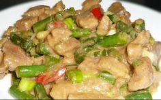 Filipino Creamy Bicol Express with Green Beans Recipe