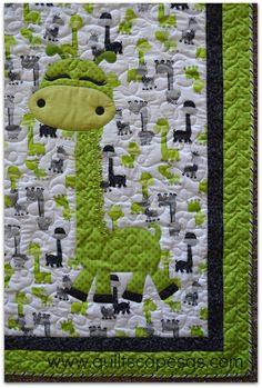 .Quiltscapes.: Easy Applique' - Machine Blanket-Stitch