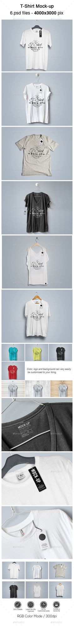 T-Shirt Mock-up #design Download: http://graphicriver.net/item/tshirt-mockup/13825761?ref=ksioks