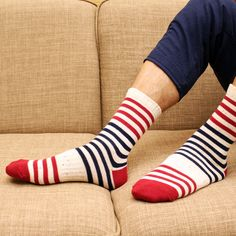 Cheap socks summer, Buy Quality lot jersey directly from China sock pack Suppliers: Ethnic style Brand Stripe Cotton Men socks set 5 pairs/lot Note: A lot include 5 colors.If you want to change colors, Colorful Socks, Striped Socks, Ankle Highs, Cotton Socks, Ethnic Fashion, Keep Warm, Color Change, Men Casual, Lineup