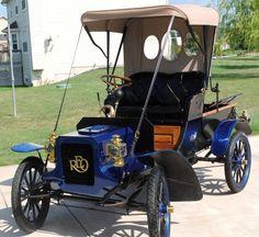 1905 Reo Model B Runabout - (REO Motor Car Company, Lansing, Michigan 1905 to 1975)