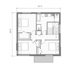 Town House Floor Plan, Small House Plans, Pallet Furniture, Architecture, Home Interior Design, Townhouse, Construction, New Homes, How To Plan