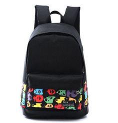 1bb5f4cbf5 Dámský batoh s potiskem emoticons – dámské batohy Na tento produkt se  vztahuje nejen zajímavá sleva