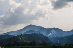 The hills wanting the sun spread the light. Taken in Lembah Harau, West Sumatra, Indonesia