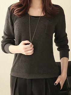 Color Pallete Knit Sweater $18.50