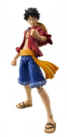 Monkey D Luffy VAH One Piece (Repeat). Last day to Pre-Order: 1/28/2016 *  One Piece is a Japanese manga series written and illustrated by Eiichiro  Oda. It has been serialized in Shueisha's Weekly Shōnen Jump magazine since  July 19, 1997, with the chapters collected into seventy-nine tankōbon  volumes to date. One Piece follows the adventures of Monkey D. Luffy, a  funny young man whose body gained the properties of rubber after  unintentionally eating a Devil Fruit. With his…