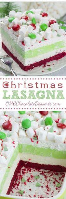 Christmas Lasagna.   Jennifer Kathleen Giovana