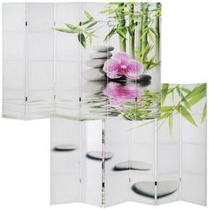 Free delivery over to most of the UK ✓ Great Selection ✓ Excellent customer service ✓ Find everything for a beautiful home Mirror Room Divider, Bamboo Room Divider, 4 Panel Room Divider, Room Dividers, Kho Samui, Mystery Room, Marble Room, Exotic Art, Relaxation Room