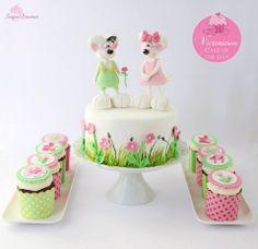 Mice in Love Cake & Cupcakes
