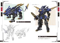 Zoids Inspired Mecha
