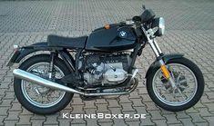 BMW R 45 Cafe Racer - Pocas motocicletas de esta cilindrada se ven como cafe racer. Con este modelo es difícil acertar. - Fotolog