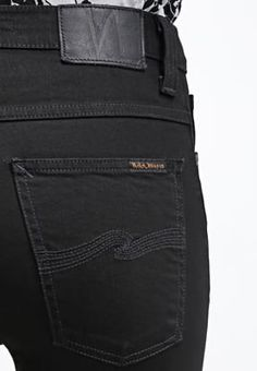 Bootcut Nudie Jeans BEN - Bootcut jeans - black viper Zwart denim/blackdenim: €…