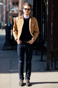 imogene + willie | that carhartt | love his look