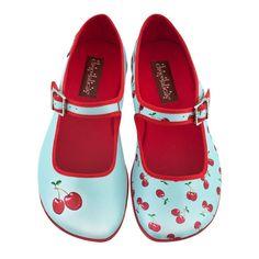 2c1368381965 Chocolaticas® Cherry Women s Mary Jane Flat. Mary JanesGirls ShoesSock ...