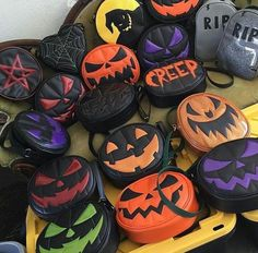 Halloween purses from love pain & stiches