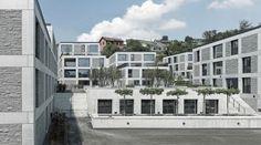 """""""URBAN ISLAND"""", Meilen, Zurich by Max Dudler"""