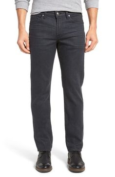 7 For All Mankind® 'Slimmy' Slim Fit Jeans (Industrial) available at #Nordstrom