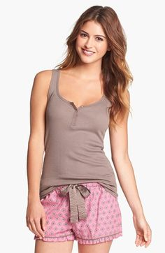 Fancy That Tank Taupe Large Sexy Pajamas, Cute Pajamas, Pajamas Women, Cute Sleepwear, Sleepwear Women, Cute Pjs, Cute Lazy Outfits, Mini Club Dresses, Stylish Girl Images