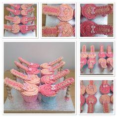 Cupcake stiletto shoes