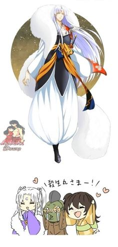 Sesshomaru is my favorite character from InuYasha, and probably one of my most favorite characters of all <3